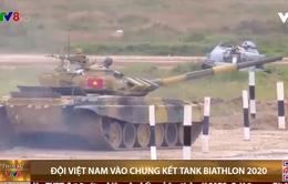Đội Việt Nam vào chung kết Tank Biathlon 2020