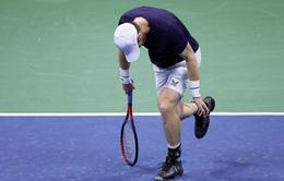 Thua chóng vánh, Andy Murray bị loại tại vòng 2 Mỹ mở rộng 2020