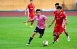 CLB Hà Nội thắng cách biệt CLB Viettel trong trận giao hữu
