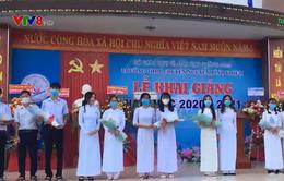Khai giảng năm học mới tại một số trường học khu vực miền Trung