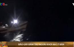 Bão gây đắm tàu chở 43 thủy thủ ngoài khơi Nhật Bản
