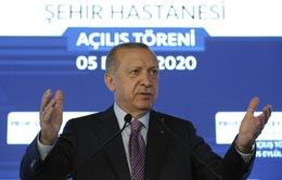 Thổ Nhĩ Kỳ cảnh báo không nhượng bộ về tranh chấp với Hy Lạp