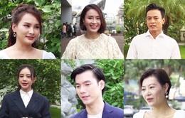Bảo Thanh, Nhan Phúc Vinh và các diễn viên chúc mừng sinh nhật VTV