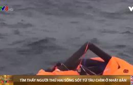 Tìm thấy người thứ hai sống sót từ tàu chìm ngoài khơi Nhật Bản