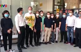 Đà Nẵng tiễn đoàn y tế TP Hồ Chí Minh