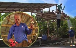 Lão nông xây gần 400 căn nhà miễn phí cho người nghèo