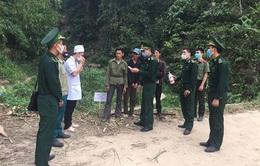 Bộ đội Biên phòng tăng cường chống COVID-19 qua biên giới