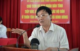 Thi hành kỷ luật nguyên Chủ tịch UBND tỉnh Quảng Ngãi - Trần Ngọc Căng