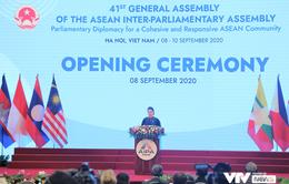 Chủ tịch Quốc hội Nguyễn Thị Kim Ngân tuyên bố khai mạc Đại hội đồng AIPA lần thứ 41