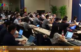 Trung Quốc siết thị thực với phóng viên Mỹ