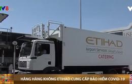 Hãng hàng không Etihad cung cấp bảo hiểm COVID-19