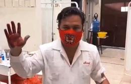 """Thị trưởng Peru gửi """"thư máu"""" kiến nghị Tổng thống hỗ trợ chống dịch"""
