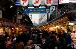 Nhật Bản có số ca mắc mới cao kỷ lục sau ngày cuối năm