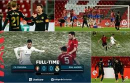 Vòng 18 La Liga: Barcelona thắng đậm Granada, Real Madrid bị Osasuna cầm hoà