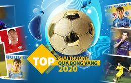 Danh sách rút gọn Quả bóng Vàng Việt Nam 2020
