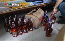 Phát hiện cơ sở chuyên sản xuất rượu ngoại giả quy mô lớn