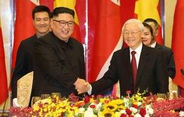 Tổng Bí thư, Chủ tịch nước Nguyễn Phú Trọng gửi điện mừng Tổng Bí thư Đảng Lao động Triều Tiên Kim Jong-un