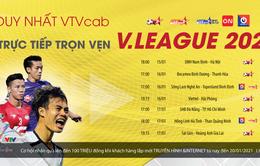 Duy nhất trên VTVcab: Trực tiếp trọn vẹn V.League 2021