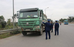 Hơn 14.000 xe chở quá tải bị xử phạt trong năm 2020