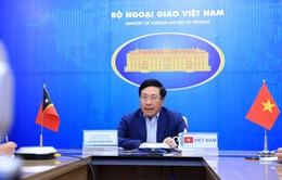 Việt Nam và Timor Leste ủng hộ lẫn nhau tại các tổ chức, diễn đàn khu vực và quốc tế