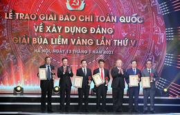 Đài Truyền hình Việt Nam đoạt 3 giải thưởng tại lễ trao giải Búa liềm vàng năm 2020
