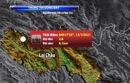 Động đất sáng 13/1 tại Mường Tè (Lai Châu) ở mức yếu, không gây rủi ro thiên tai