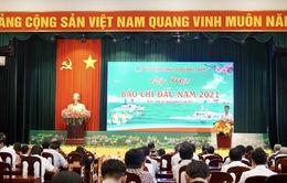 Trung tâm sản xuất và Phát triển nội dung số VTV nhận bằng khen Bộ Tư lệnh Cảnh sát biển