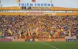 CLB Nam Định tăng giá vé trên sân Thiên Trường