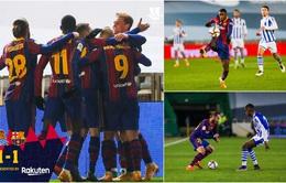 Không Messi, Barca vất vả vào chung kết Siêu cúp Tây Ban Nha