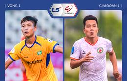 [KT] Sông Lam Nghệ An 1-1 Topenland Bình Định: Thi đấu thiếu người, SLNA vẫn giành được 1 điểm