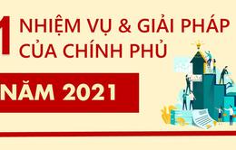 11 nhiệm vụ và giải pháp chủ yếu của Chính phủ năm 2021