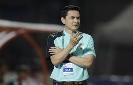 HLV Kiatisuk nói gì sau trận thua CLB Sài Gòn?