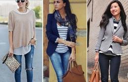 """8 quy tắc thời trang """"không thể không biết"""" cho người gầy"""