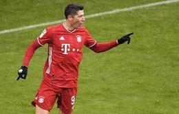 Lewandowski lập kỷ lục ghi bàn mới tại Bundesliga