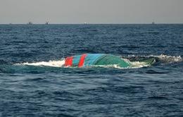 Chìm tàu cá có 15 thuyền viên trên vùng biển Côn Đảo