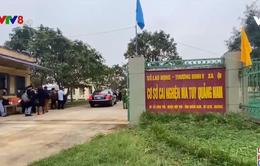 Lãnh đạo tỉnh Quảng Nam thăm cơ sở cai nghiện ma tuý
