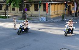 Đại hội XIII của Đảng: Phân luồng từ xa, phòng ngừa ùn tắc giao thông
