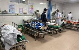 Nghệ An: Đứt thang thi công công trình, nhiều công nhân bị thương nặng