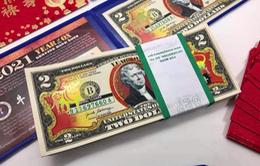 """Những điều chưa biết về tiền 2 USD in hình linh vật """"nóng"""" mỗi dịp Tết"""