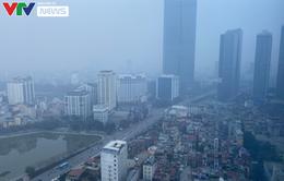 Sương mù bao phủ Hà Nội, TP Hồ Chí Minh, không khí ô nhiễm