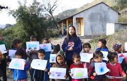 'Vẽ ước mơ' để cùng góp sức xây lại điểm trường ở Hoàng Su Phì
