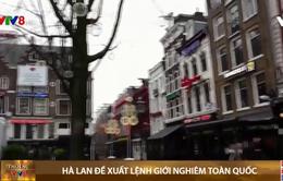 Hà Lan lần đầu tiên giới nghiêm toàn quốc