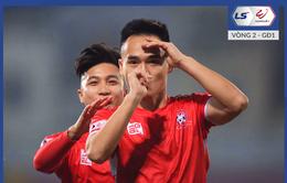 [KT] CLB Hải Phòng 3-2 CLB Nam Định: Nỗ lực muộn màng của đội khách