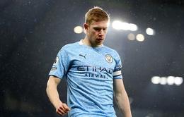 Manchester City nhận tin không vui về Kevin de Bruyne