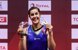 Giải cầu lông Thái Lan mở rộng: Axelsen, Carolina Marin vô địch thuyết phục!