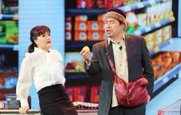 """Vân Dung """"phát điên"""" vì Quang Thắng tại Gala cười 2021"""