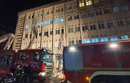 Hỏa hoạn tại bệnh viện điều trị COVID-19 tại Romania