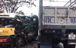 Nghệ An: Tai nạn giao thông khiến nhiều người bị thương