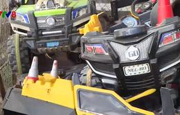 Đà Lạt: Tịch thu ô tô điện, xe 3 bánh điện không rõ nguồn gốc