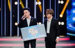 Thái Sơn chiến thắng thuyết phục khi giả cặp đôi Ưng Hoàng Phúc và Phạm Quỳnh Anh